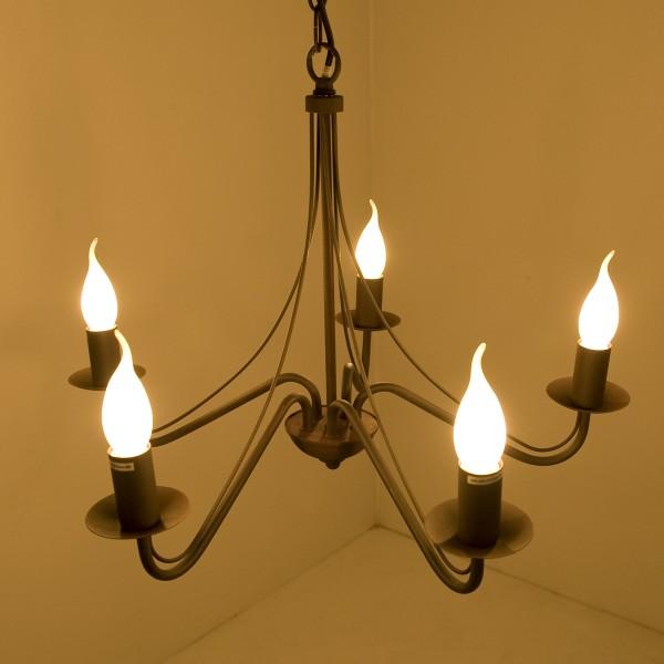 lustre style campagne plafonnier 5 branches lampe pendante lustre m tal 11351 ebay. Black Bedroom Furniture Sets. Home Design Ideas
