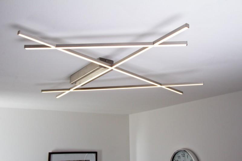 led deckenleuchte 38 watt 4000 lumen 3000 kelvin wohnraumleuchten deckenlampen. Black Bedroom Furniture Sets. Home Design Ideas