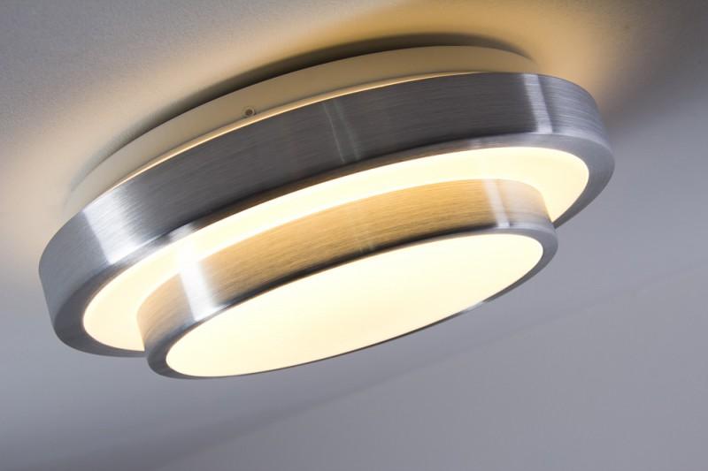Details zu LED Deckenleuchte Design Lampe Deckenlampe Badezimmer Bad 12  Watt IP44 warmweiß