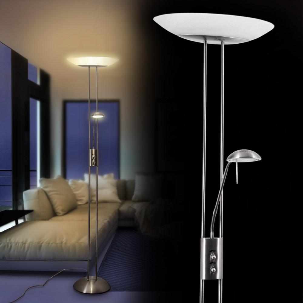 Deckenfluter LED Design Fluter Büro Stand Boden Lampe Wohn