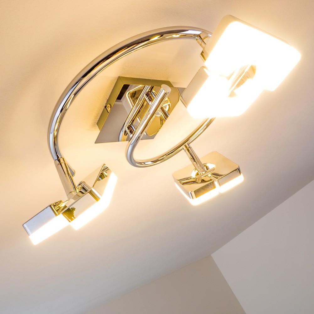 deckenstrahler led design deckenlampe deckenspot flur deckenleuchte kippbar 3er ebay. Black Bedroom Furniture Sets. Home Design Ideas