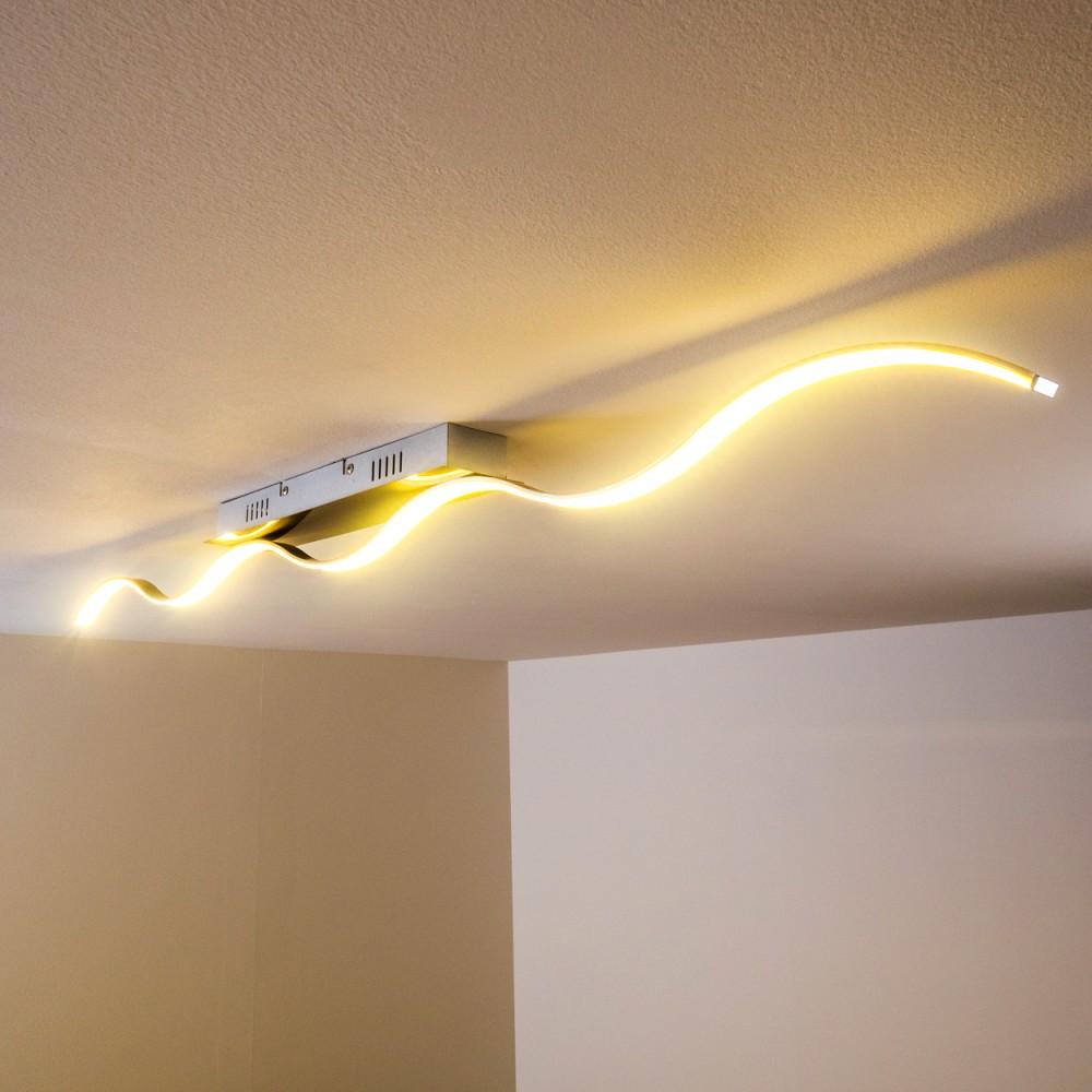 Design LED Deckenleuchte Flur Küchen Leuchten Deckenlampe Zimmer ...