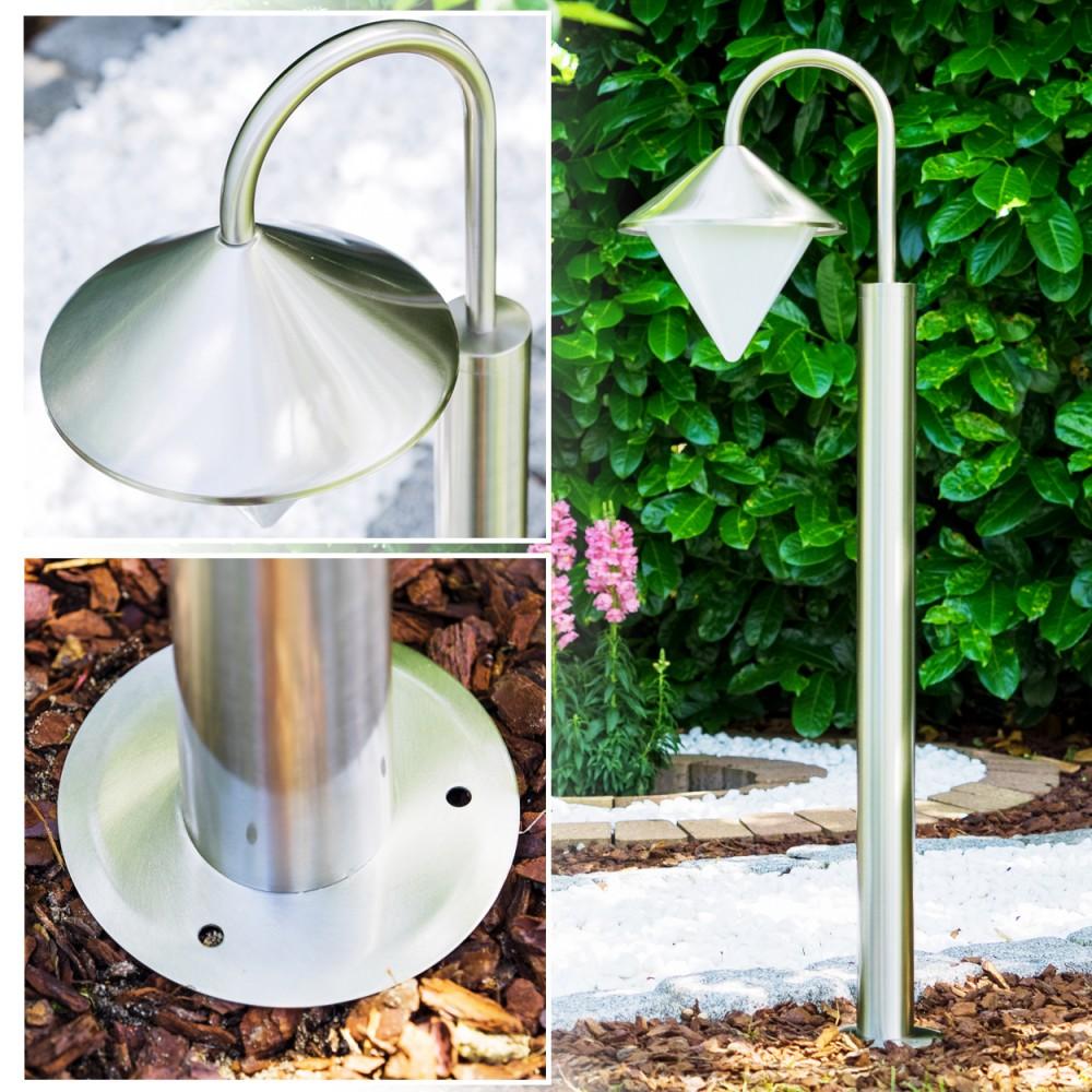 lampadaire moderne borne d 39 clairage lampe de jardin luminaire ext rieur 143108 ebay. Black Bedroom Furniture Sets. Home Design Ideas