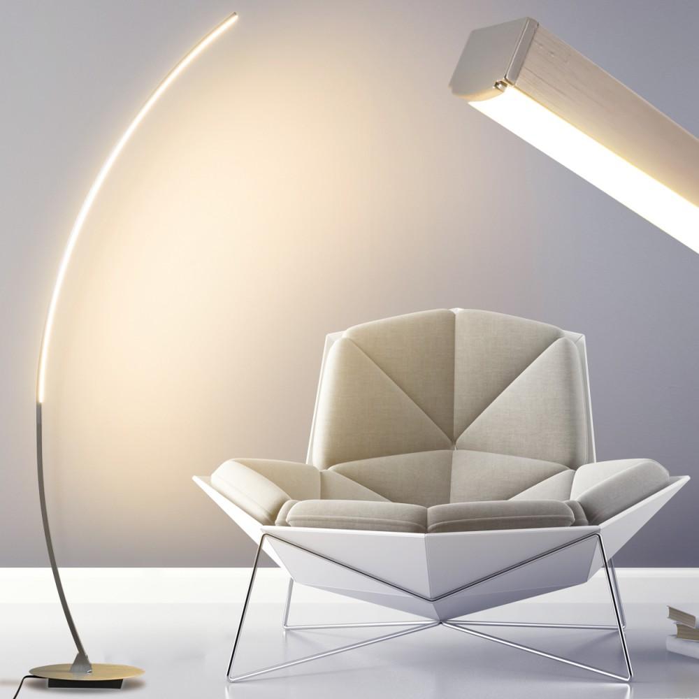 Led Stehleuchte Design Flur Stand Lampen Boden Leuchten Wohn