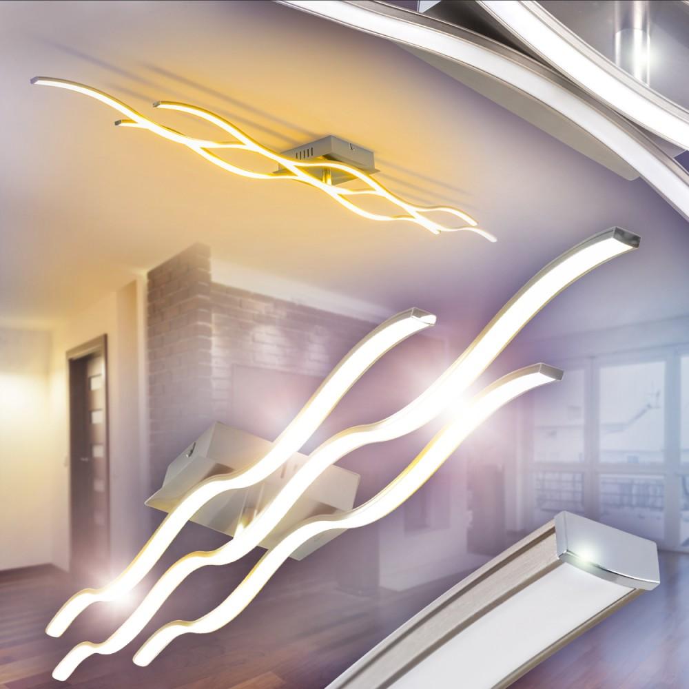 Deckenlampe led design wohn zimmer leuchten flur lampen for Lampen 40 watt
