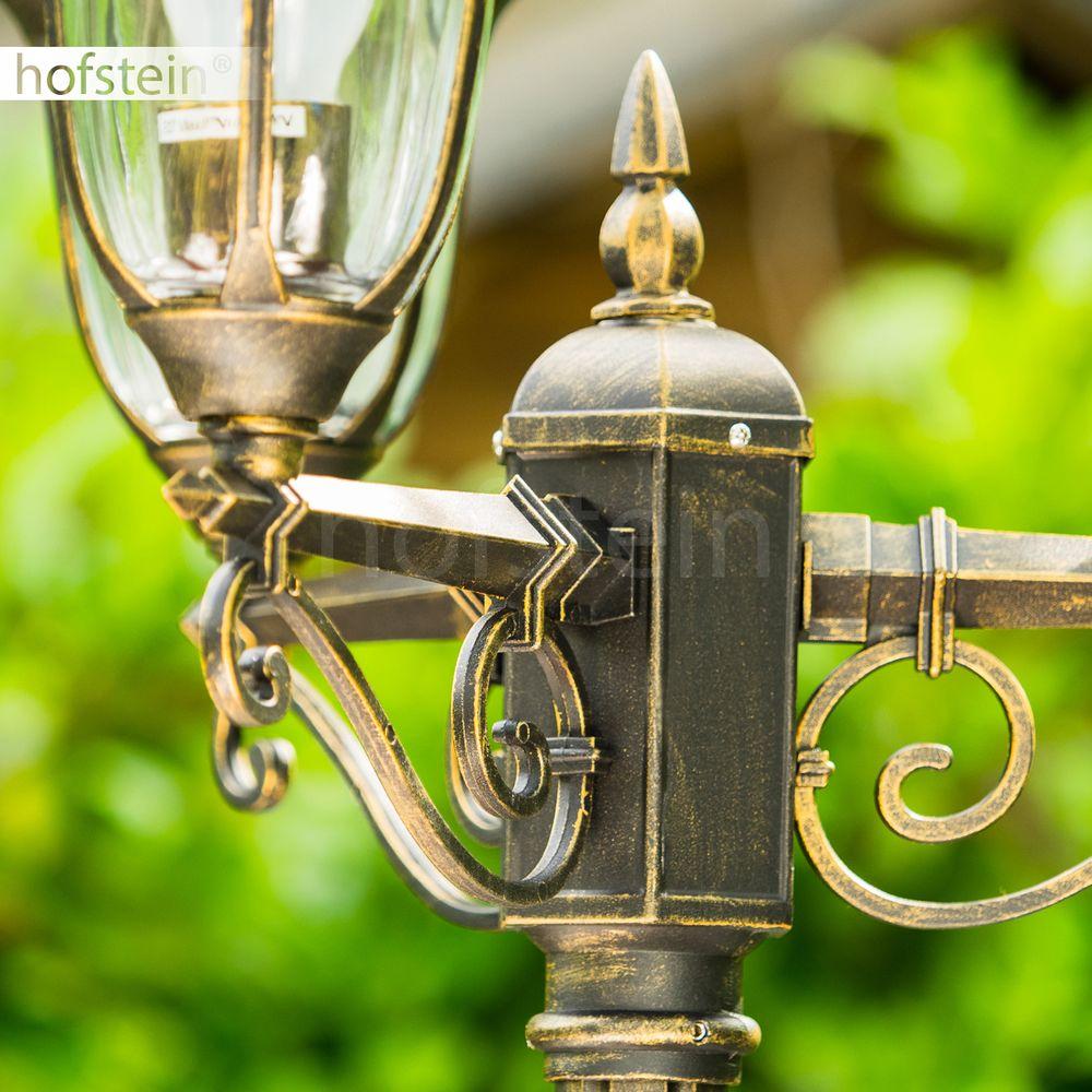 lampadaire clairage ext rieur lampe de jardin lampe sur. Black Bedroom Furniture Sets. Home Design Ideas