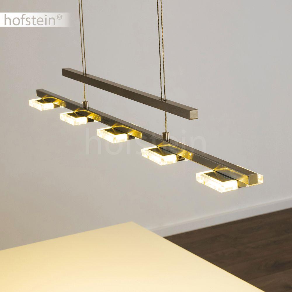 Design led h nge leuchten ess wohn schlaf zimmer pendel for Lampen hochwertig