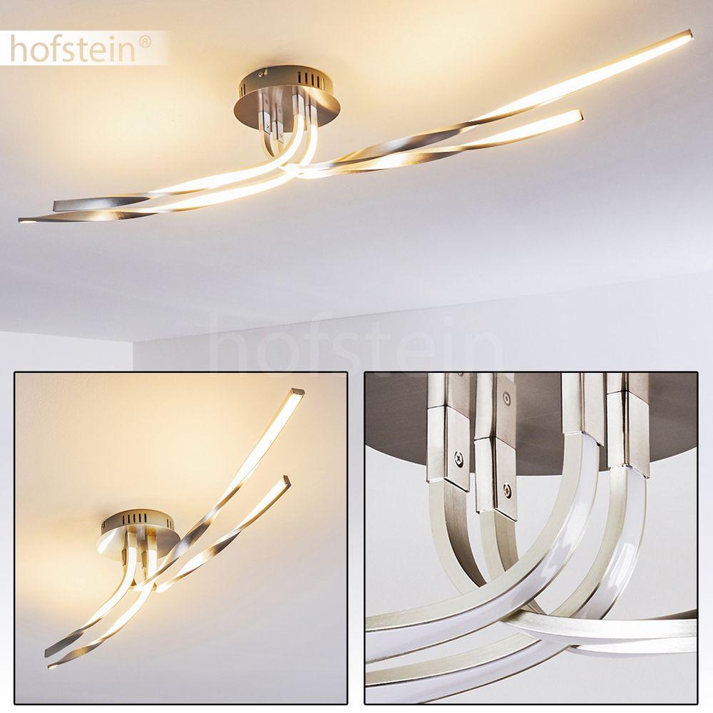 deckenleuchten led design wohn zimmer k chen decken lampen b ro flur strahler ebay. Black Bedroom Furniture Sets. Home Design Ideas
