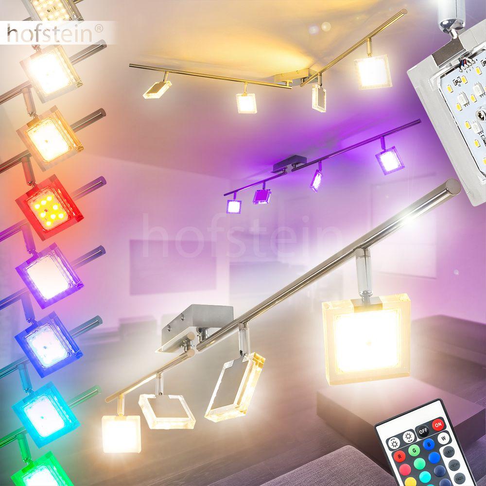 Decken Lampen RGB LED Farbwechsler Flur Wohn Schlaf Zimmer Leuchte Fernbedienung