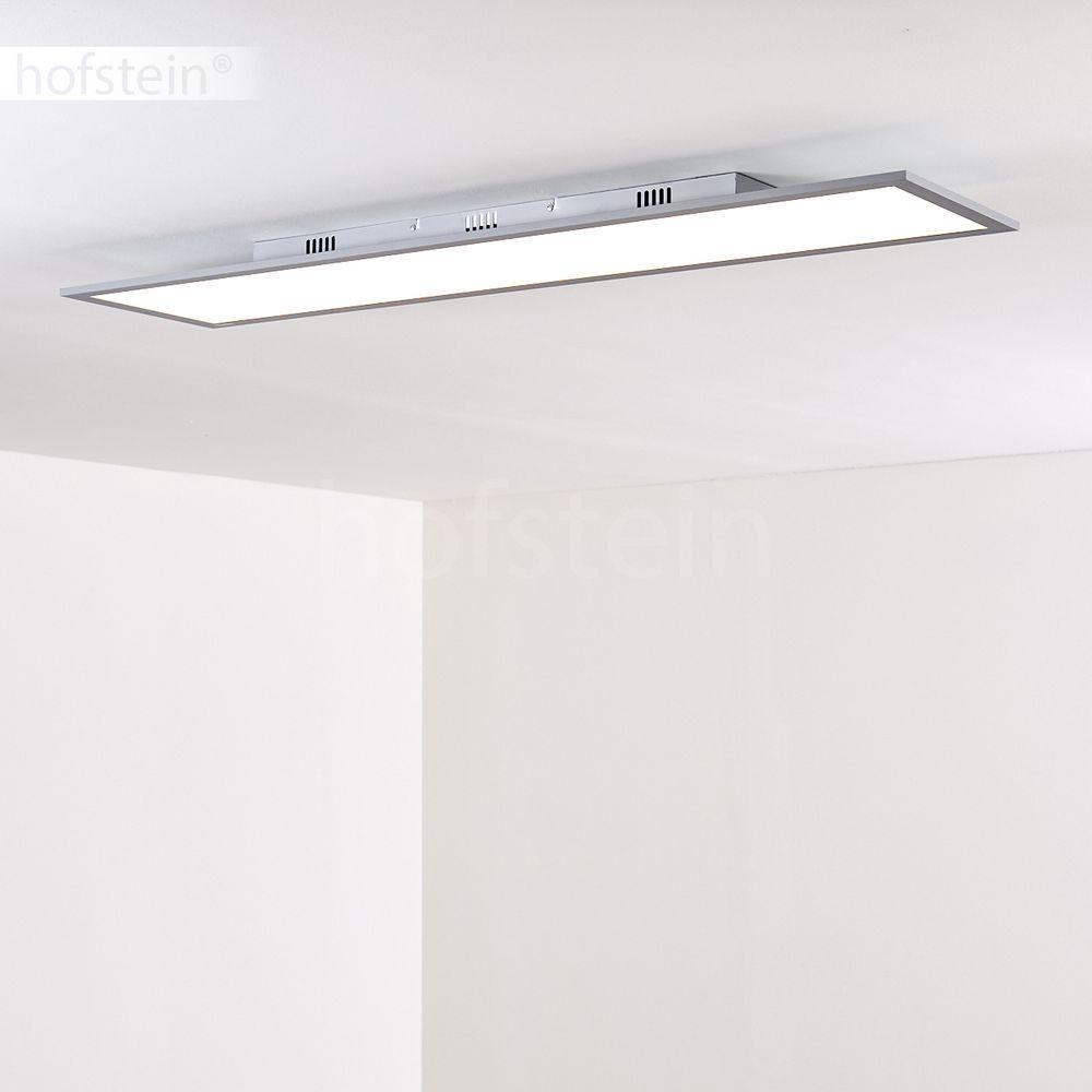 led panel decken leuchten flur lampe dimmbar wohn schlaf zimmer beleuchtung b ro ebay. Black Bedroom Furniture Sets. Home Design Ideas
