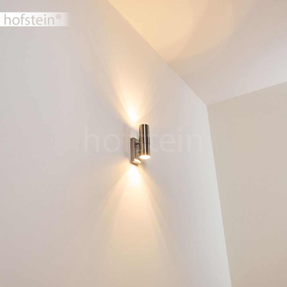 led aussen wand leuchten up down veranda hof lampen. Black Bedroom Furniture Sets. Home Design Ideas