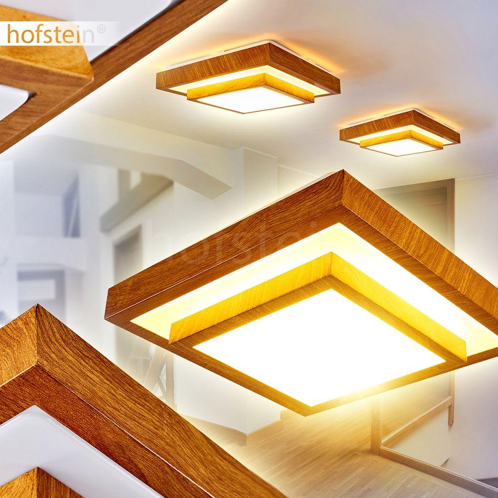 Design LED Dielen Flur Decken Lampe Leuchte Wohn Schlaf Zimmer Raum Beleuchtung