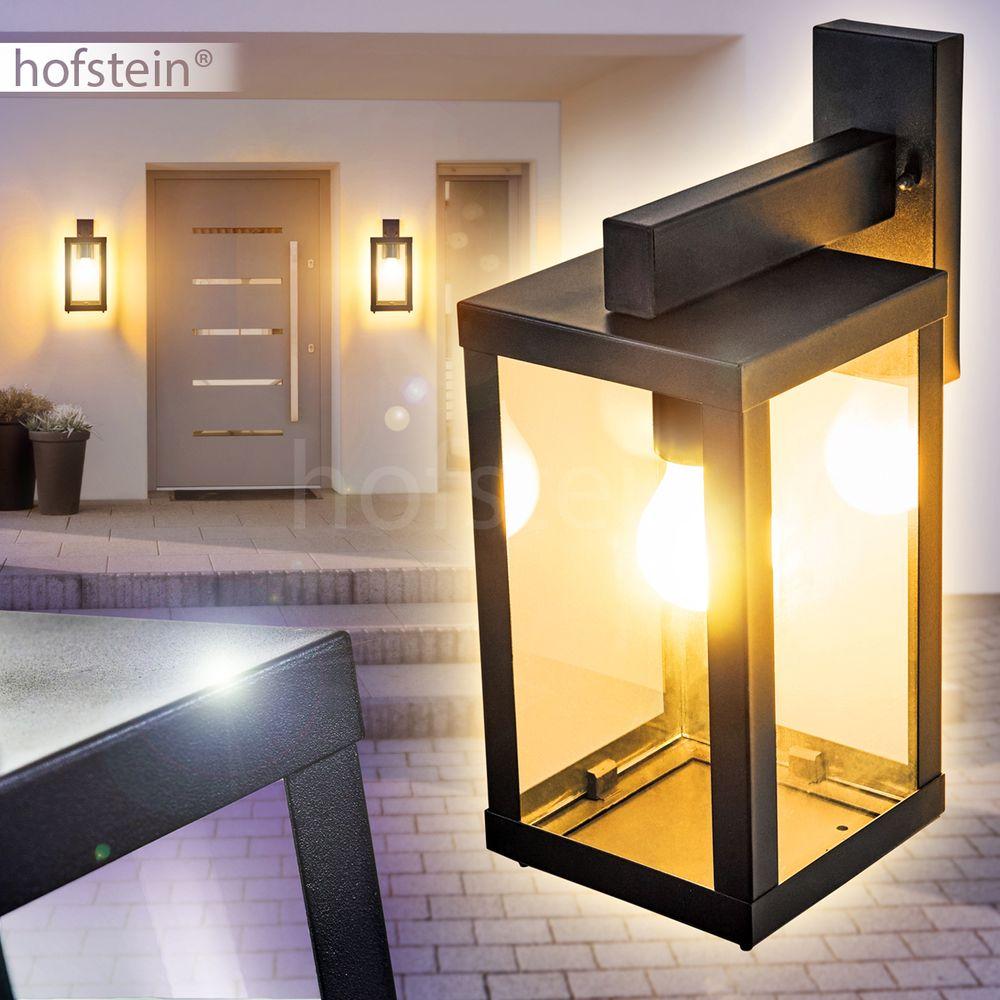Garten Leuchten Glas Veranda Hof Terrassen Beleuchtung Außen Wand Lampen modern
