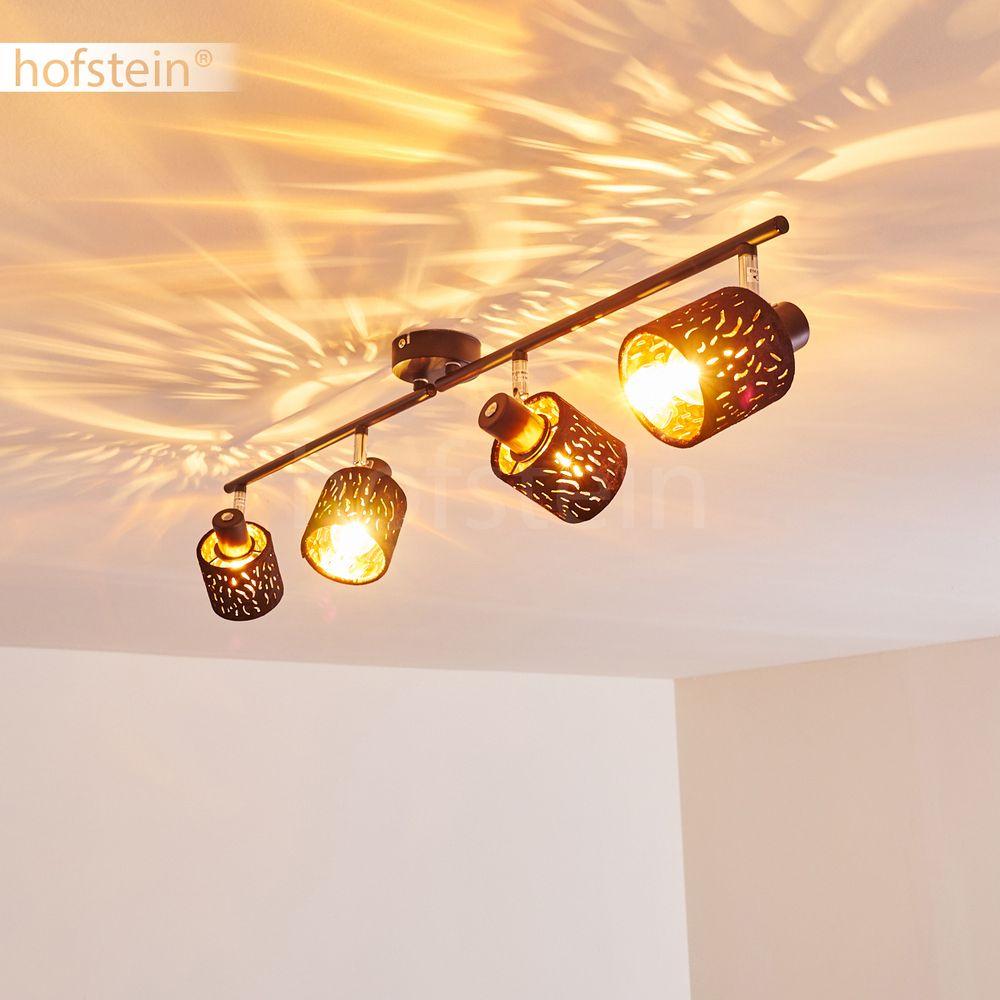 Holz//Rost Wohn Schlaf Zimmer Raum Leuchten Flur Strahler Vintage Decken Lampen
