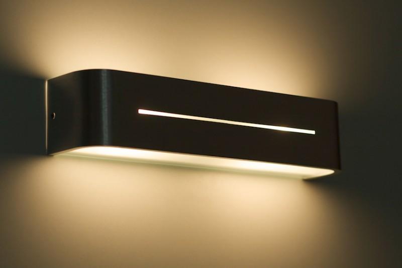Wandleuchte posta ap2 aluminio wohnraumleuchten wandlampen - Wohnzimmer wandlampen ...