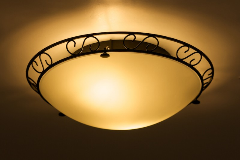 deckenleuchte garfio wohnraumleuchten deckenlampen glas rund. Black Bedroom Furniture Sets. Home Design Ideas
