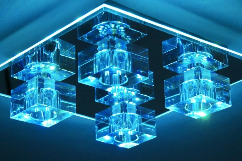 design deckenlampe deckenleuchte led farbwechsel mit fernbedienung - Bunte Led Lampen