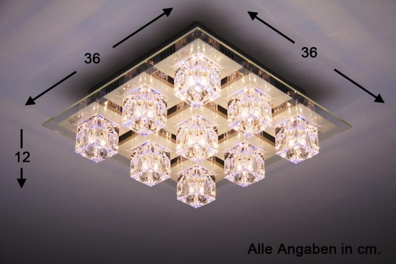 Plafoniere Obi Led : Plafonnier moderne à led changeur de couleur lustre lampe