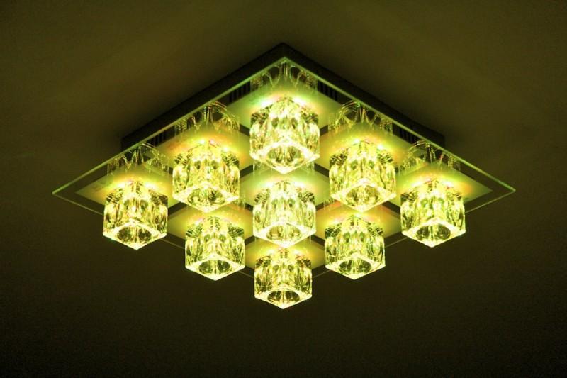 Plafoniere Led Per Alte Temperature : Plafoniera led cambiacolore lampada da soffitto con telecomando