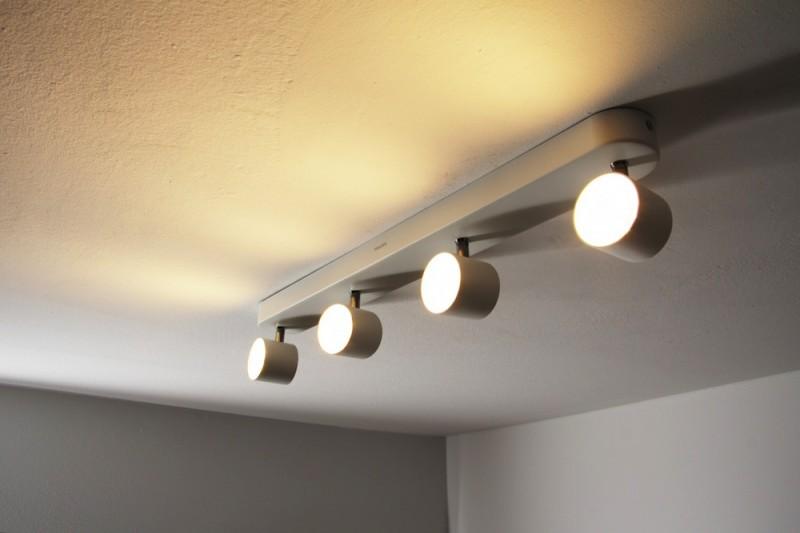 Plafoniere Led Philips : Plafoniera metallo bianco philips power led spot da soffitto