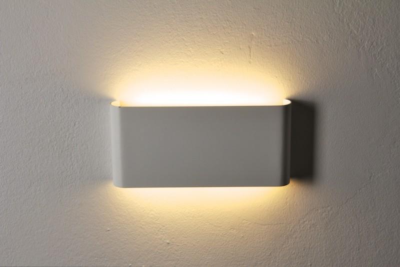 Philips alluminio colore bianco led watt applique da parete