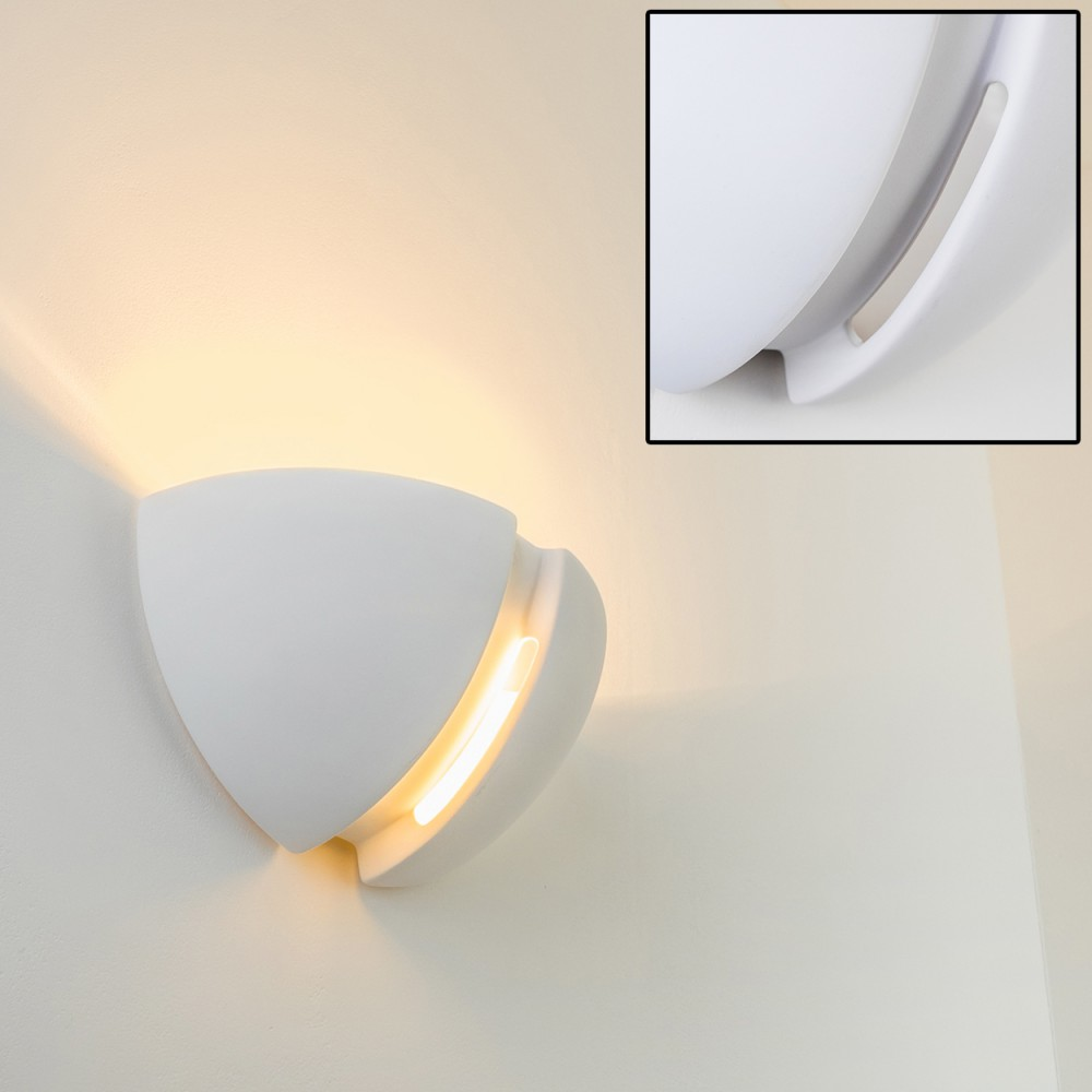 applique murale moderne luminaire lampe de couloir spot blanc lampe murale 62933 ebay. Black Bedroom Furniture Sets. Home Design Ideas