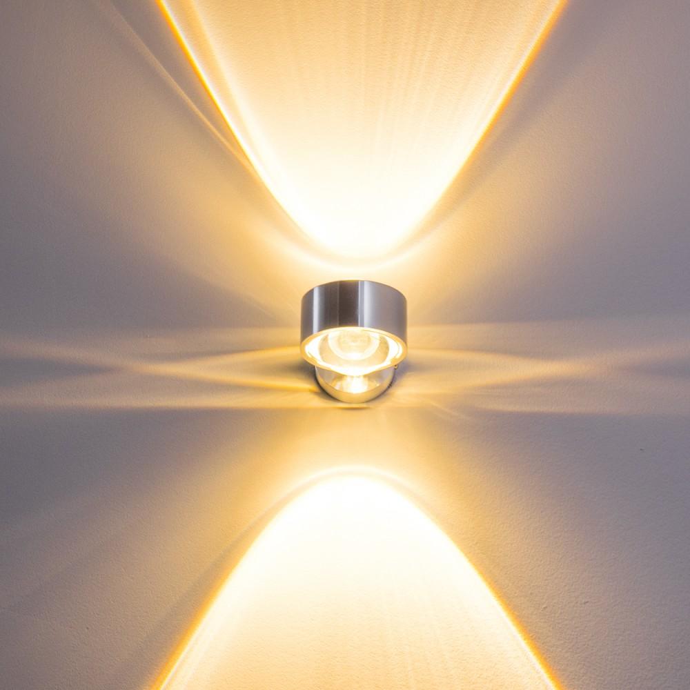 design wandleuchte wandlampe flurlampe wandstrahler leuchte glas wohnzimmer flur ebay. Black Bedroom Furniture Sets. Home Design Ideas