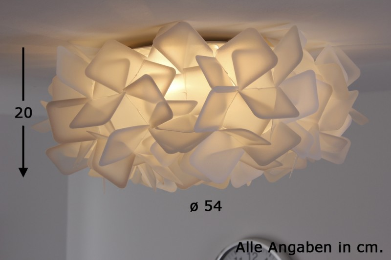 Plafoniere Con Calamita : Plafoniera opalflex bianco design made in italy sostegno calamita