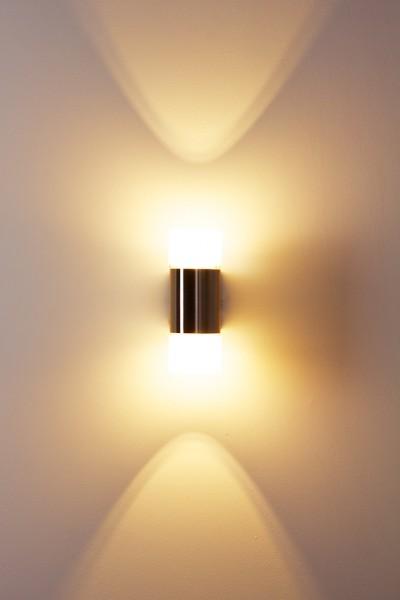 Design LED Wandleuchte Wandlampe Glas Leuchte Wandstrahler Flurlampe ...