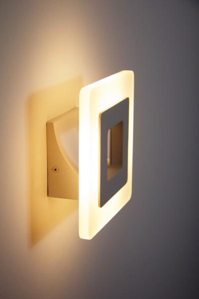 wandstrahler led design flurlampe wei wandleuchte leuchte wandlampe lampe 51147 k ln. Black Bedroom Furniture Sets. Home Design Ideas
